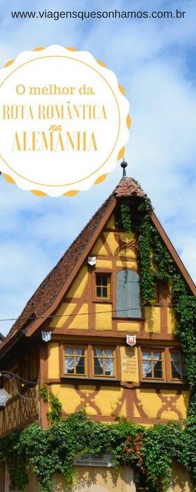 Roteiro de cinco dias pela Rota Romântica, com mapas, sugestões de hospedagem e melhores passeios em uma das regiões mais lindas da Alemanha.