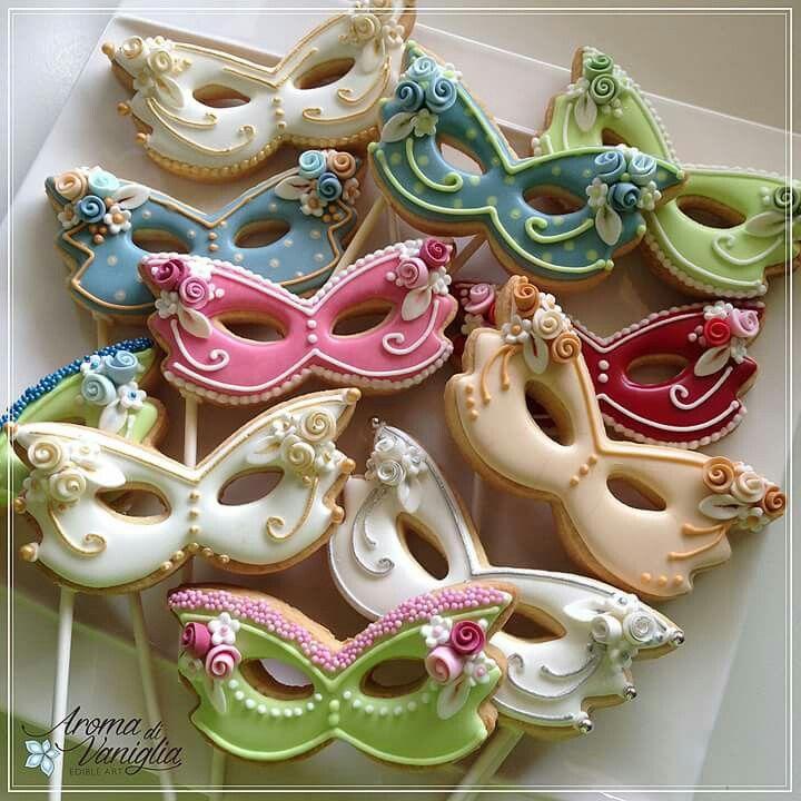 Art Cookies Masks