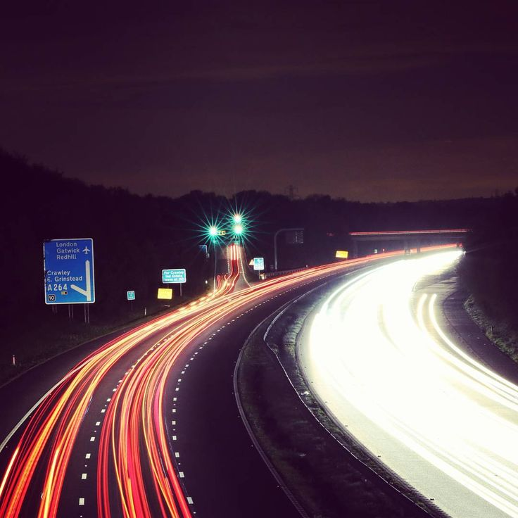 Think I'll invest in a remote so I can activate bulb mode for shots like these.. #photography #digitalphotography #digitalcamera#dslr_photography #canonuk #canon_photos #sigmaphotgraphy #sigmalens #70300mm #focallength #aperture  #britishmotorways #ukmotorway #m23 #westsussex #southeastengland #westsussexphotographer #englandphotography  #longexposure #longexposures #longexposureshots #longexposurephotography #longexposure_shot #longexposureshot #slowshutter #slowshutterspeed #slowshutters…