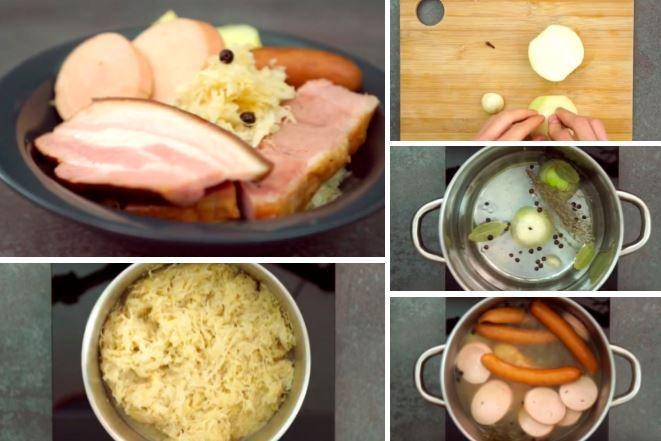 La choucroute ultra-facile : un plat traditionnel, tellement bon à partager - La Recette