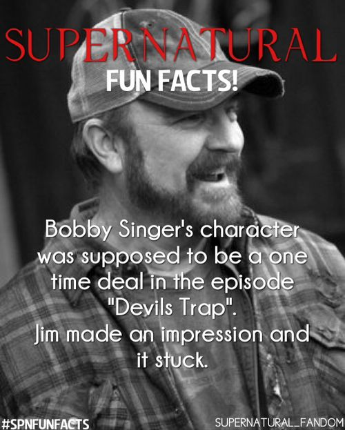 I'll always miss Bobby.  Always.  #Supernatural <-- And apparently Cas was only supposed to be in 3 episodes :)
