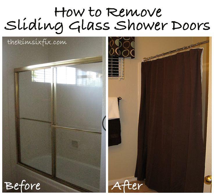 Tutorial: How to Remove Sliding Glass Shower Doors