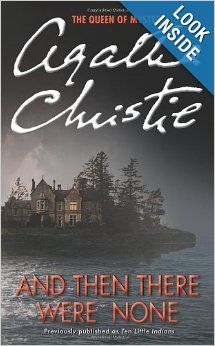 One of the best selling books of all time and I haven't read it.  SHAMEFUL!  And Then There Were None: Agatha Christie: 9780062073488: Amazon.com: Books