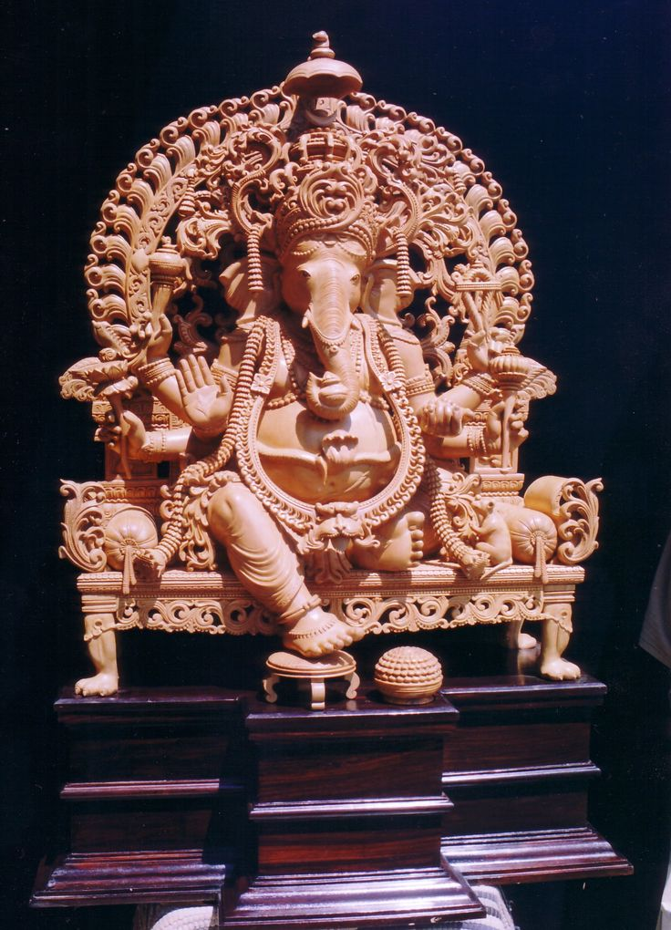Sandalwood Ganesh