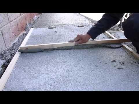 Mortero nivelador de pisos - YouTube