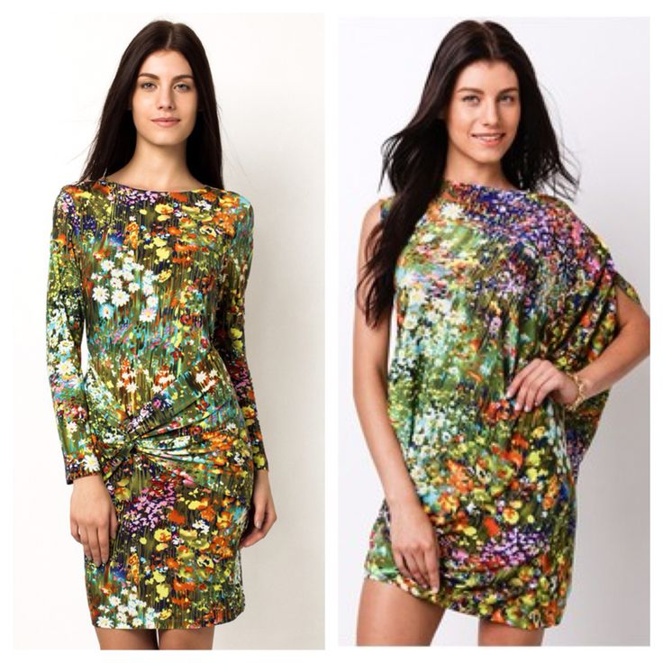 Watercolor print dresses by Daria Clothing  Available at: www.zalora.com.ph/Daria