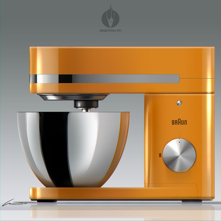 Sketch-It! by L.Trovati....Timeless Design Stand Mixer