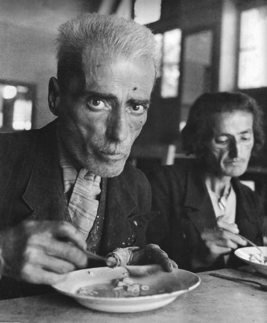 Famine victims (Nazi occupation, Neo Faliro Asylum, Athens, Dec. 1941)* by Dimitris Harissiadis *When Harissiadis was photographing famine victims to bring the situation to the attention of humanitarian organizations abroad