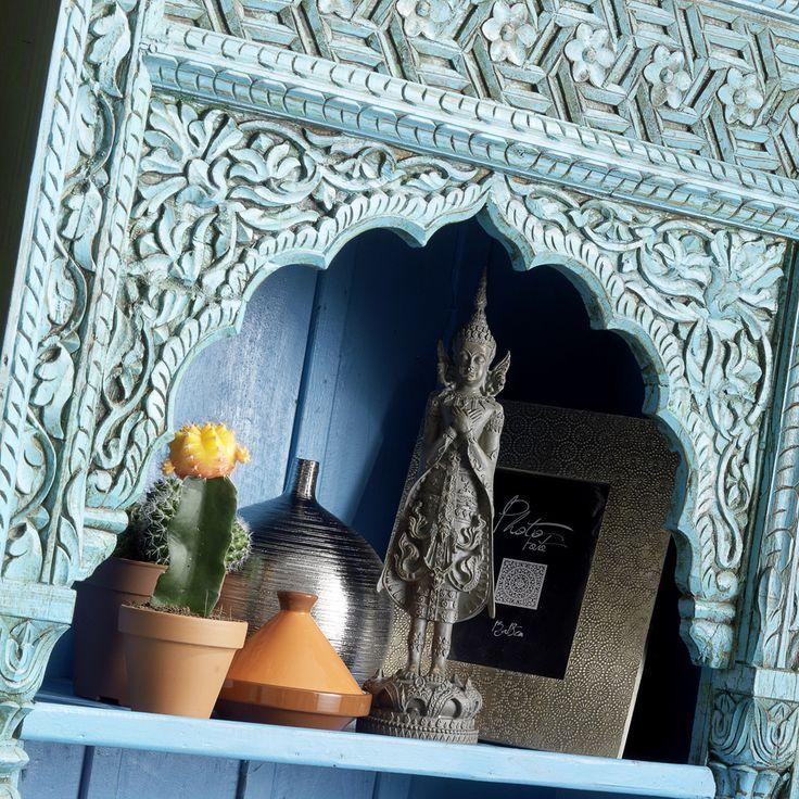 34 best exotische stijl images on Pinterest | Armchairs, Blue rooms ...