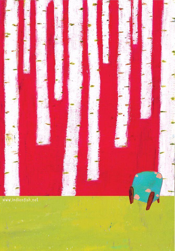 601호, 자작나무 숲.