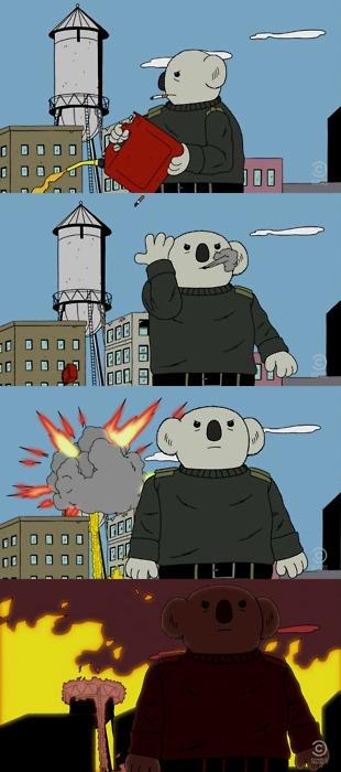 Doug's troubled past.