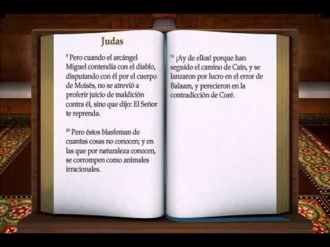 """LA BIBLIA """" JUDAS """" COMPLETO REINA VALERA NUEVO TESTAMENTO - YouTube"""
