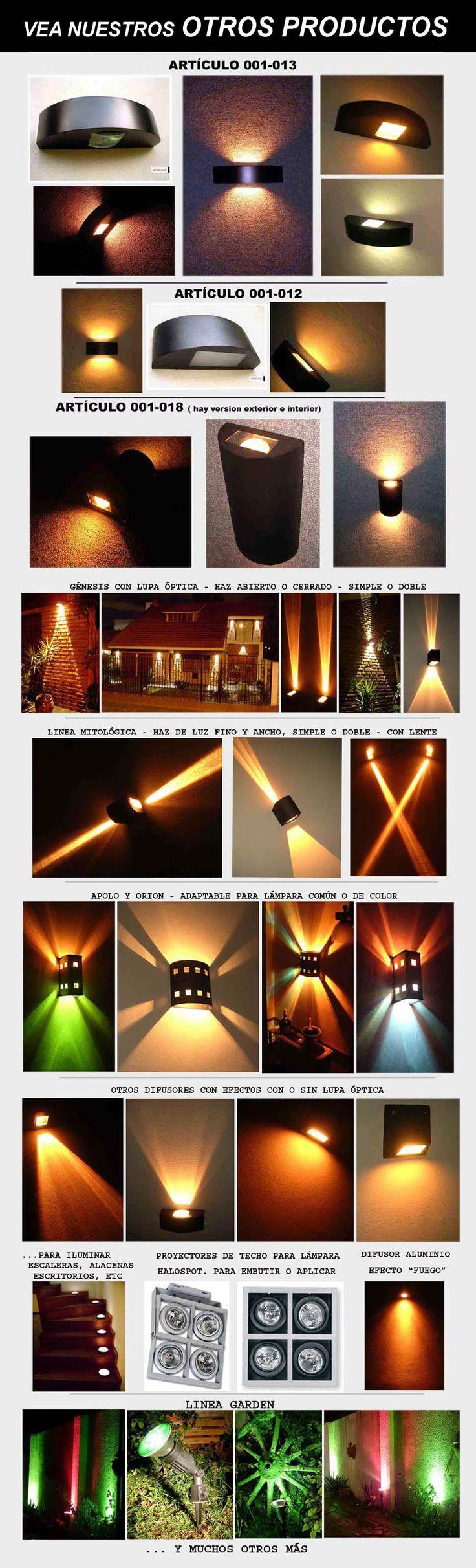 Iluminacion Exterior Para Jardines - Difusor Con Lupa Optica - $ 595,00 en Mercado Libre