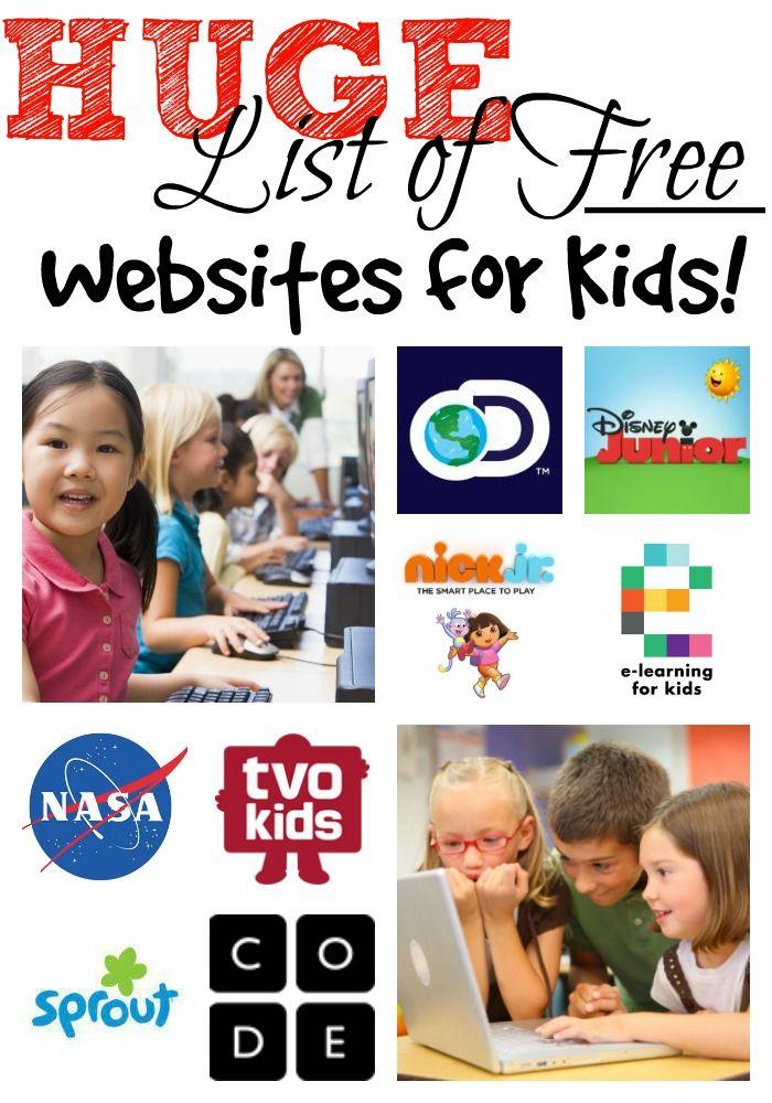 Free Education Websites for Kids