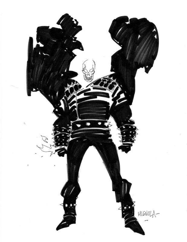 Ghostrider by Mike Mignola