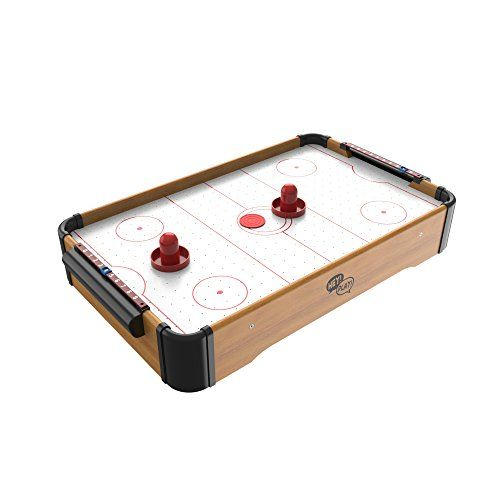 Mini Table Top Air Hockey Comes With Everything You Need Air Hockey Table Mini Arcade Air Hockey
