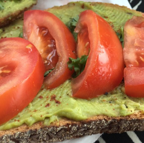 Oh such a great, easy, quick breakfast! I spread guacamole on toast, add some cayenne pepper, tomatoes, cilantro, salt and pepper! Yum yum :) #avocado #avocadotoast #toast #breakfast #healthy #healthyfats #quickandeasy #quickandhealthy #recipes #nutrition #nutrientdense #functionalhealthcenter #phillyrd