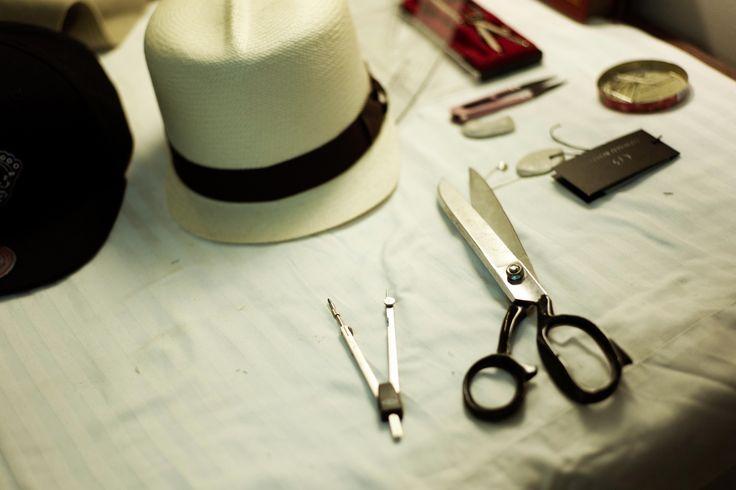 Sam Mingle at work - Hats