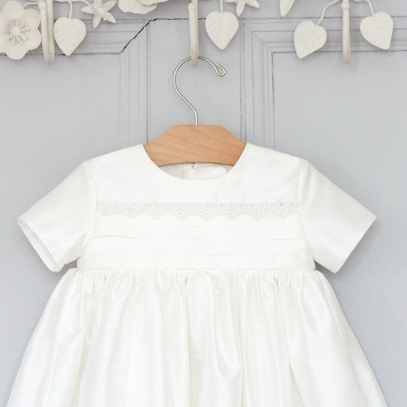 Unisex Christening Gown 'Vienna' by Adore Baby.  Baptism Gown, boys Christening gown, Girls Christening gown