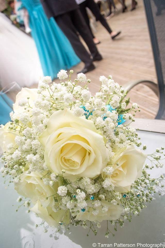 roses flowers gypsophila flower - photo #29