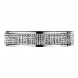 Dyrberg Kern Starlight Mabel Swarovski Crystal Bangle