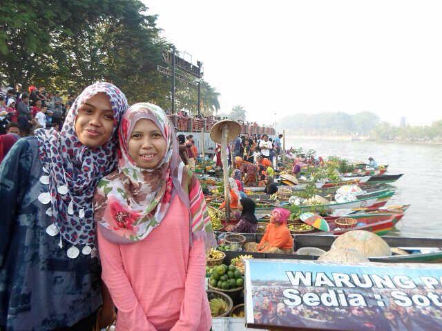 Pasar Apung, Banjarmasin, Kalimantan Selatan, Indonesia
