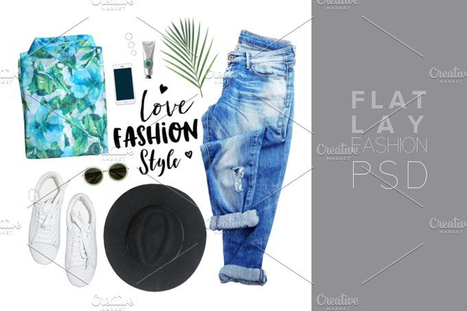 fashion blogger concept. by Trefilova Anna on @creativemarket