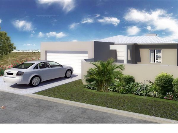 Ref: VNOwn this brand new home in a quite Crescent.Built in a u shape this home has 3 bedrooms and 2 bathrooms (one en-suite)The main bedroom has walk in closet and sliding doors leading out onto the covered patioThere is a full bathroom which is shared by the other 2 bedroomsThe living area has a modern open plan kitchen, a dining area and a lounge which opens up onto a covered patio and garden. There is a built in braai and double garage and a extra paved parking areaChoose your own…