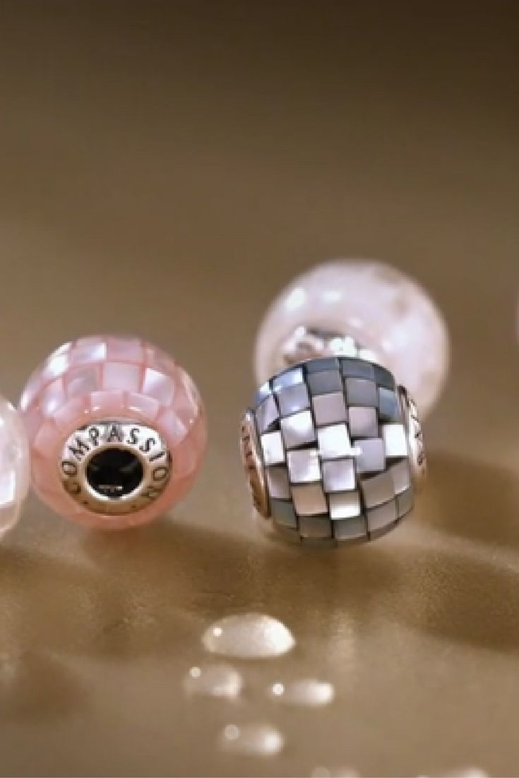Pandora Motherofpearl Creates An Eyecatching Mosaic In The Flawless New Passion