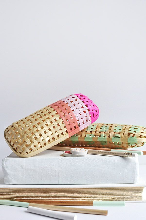 DIY Rattan Pencil Case, Delineate Your Dwelling