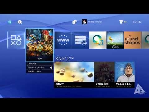 ▶ PS4 UI Walkthrough - Menus, Friends, Profile (Playstation 4 User Interface) - YouTube