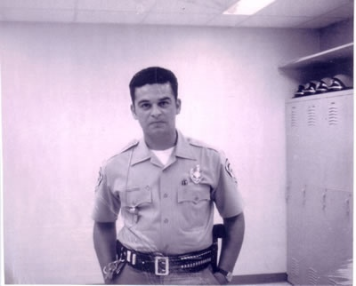 kiki camarena in his calexico pd uniform in 1970 before joining dea