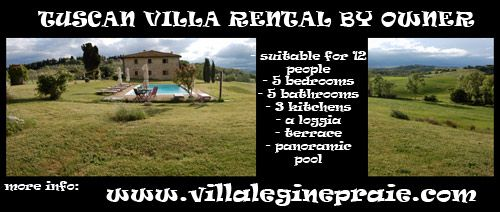 If you are planning a holiday in Tuscany, and if you are a large family or a group of friends, you should rent this Tipical Villa pool by the owners.   So save the agency fee and you are sure to find seriousness on the part of the owners. In fact you can look at the great reviews obtained over the years on the sites Tripadvisor, Trivago, Google maps, Foursquare. Try putting Villa le Ginepraie in google.it.