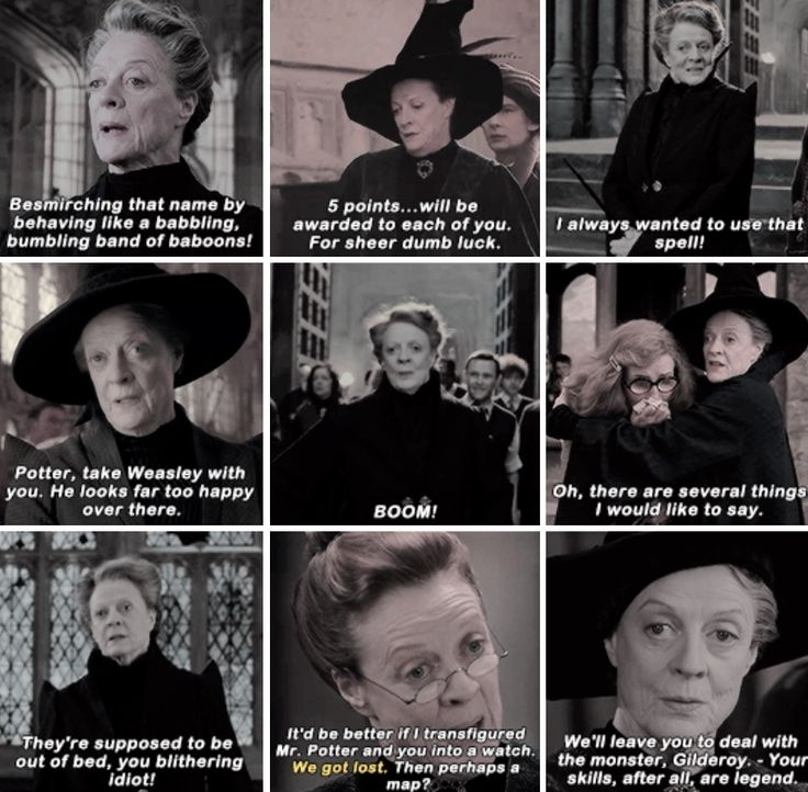 Minerva McGonagall - Happy 83rd birthday Maggie Smith! December 28th