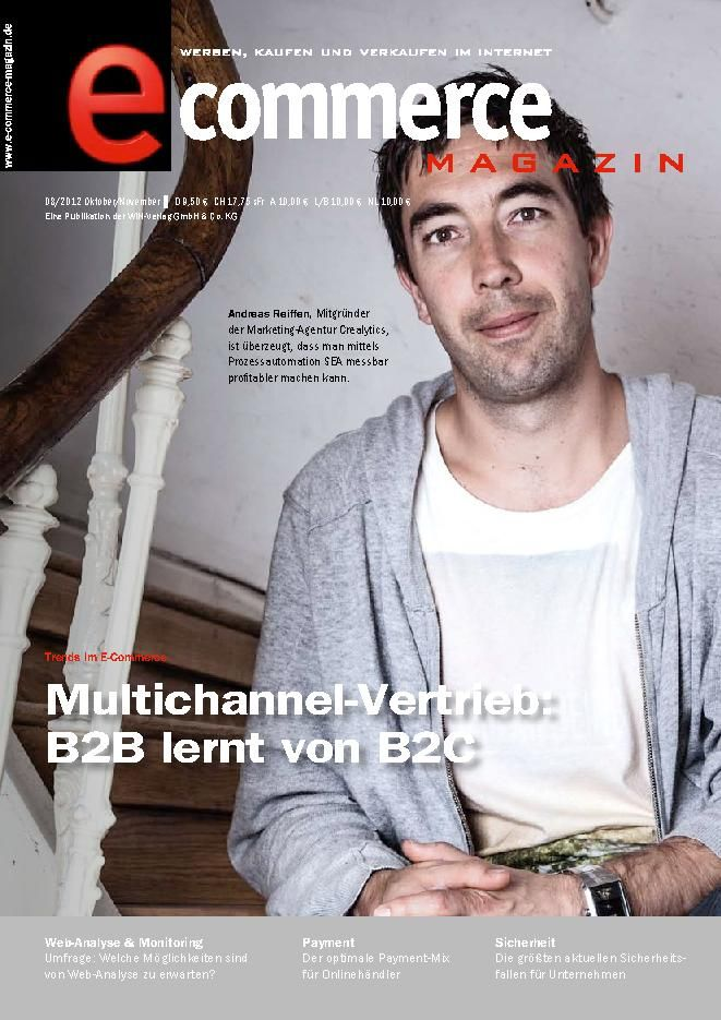 ecommerce Magazin German Magazine - Buy, Subscribe, Download and Read ecommerce Magazin on your iPad, iPhone, iPod Touch, Android and on the web only through Magzter