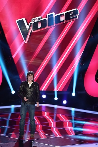 Terry McDermott of Team Blake on The Voice. I hope he wins. He's my favourite on the Voice this season.