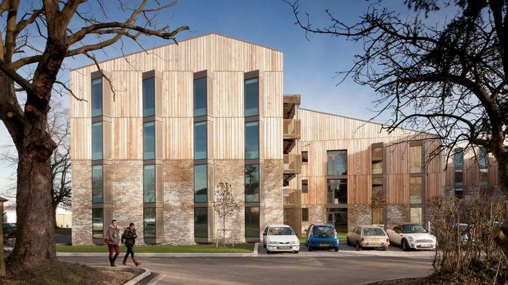 Brick and Timber - Royal Veterinary College | Hawkins\Brown