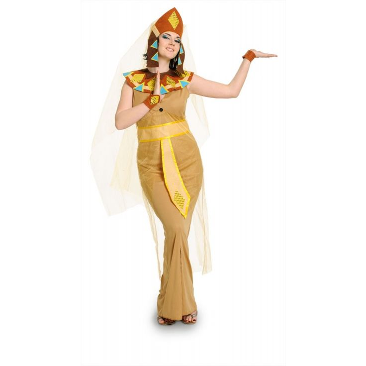 Egyptisch Cleopatra Kostuum 5-delig.