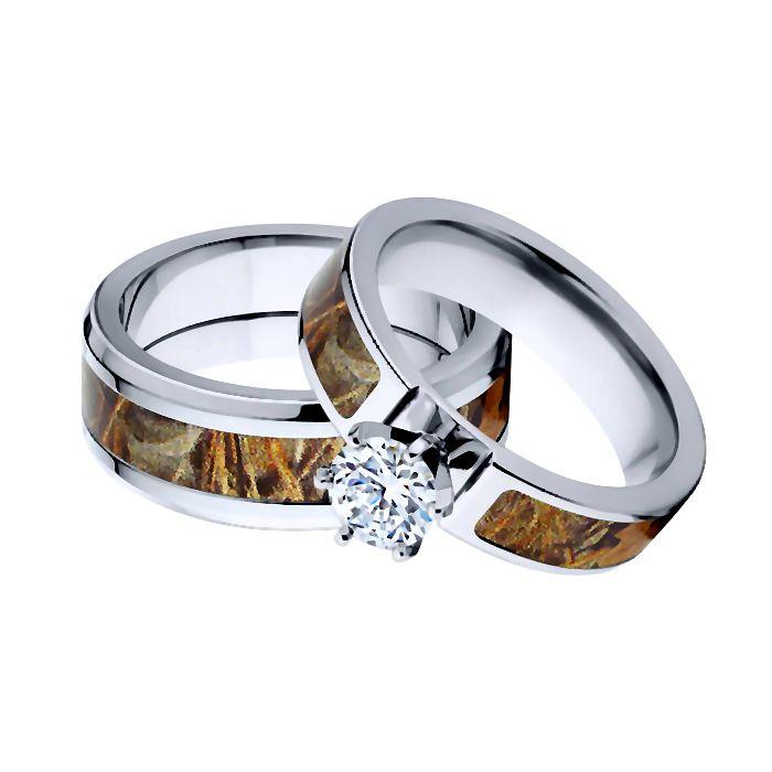 Titanium Forest Max-4 Wedding Set