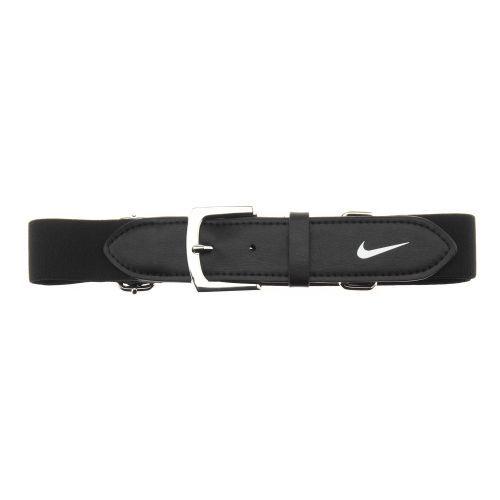 Nike Youth Baseball Uniform Belt Black/White - Baseball Apparel, Belts Hats/Ref Apparel at Academy Sports