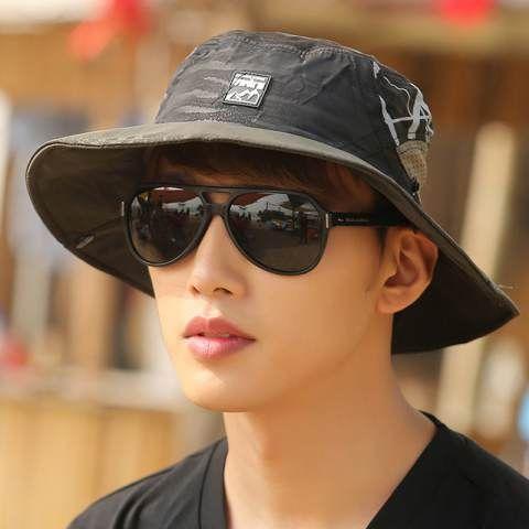 Outdoor UV package bucket hats for men sun fishing hat
