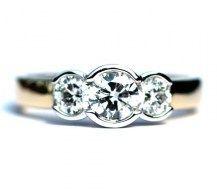 Simply Divine, 1ct of Diamonds 18YWG   #DiamondsExclusive