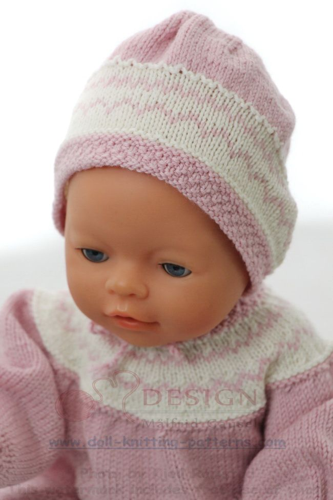Knitting Patterns For Baby Annabell Doll Abc Knitting ...