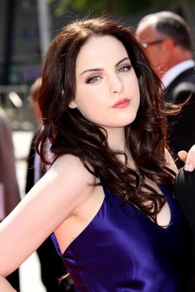 Elizabeth Gillies attends the 2011 Primetime Creative Arts Emmy Awards at Nokia Theatre on September 10, 2011 in Los Angeles, California.