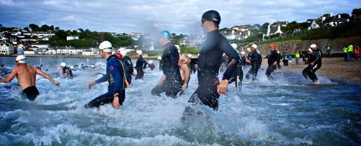 Organised swims in Cornwall