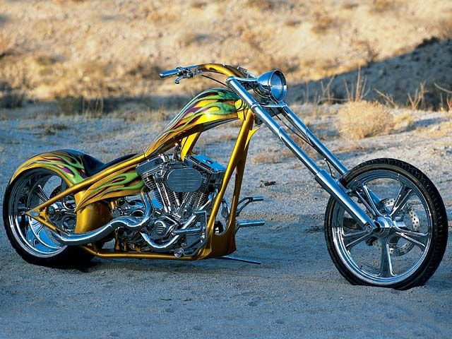 2002 Martin Brothers Chopper Motorcycle Motorcycle