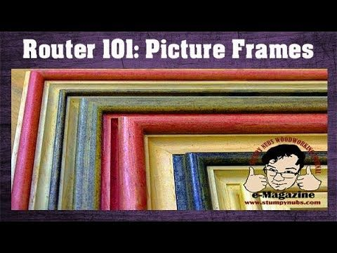 (56) 10 AMAZING picture frames you can make with REGULAR ROUTER BITS!!!! – YouTu… – Router
