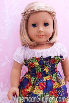 Hairstyles for short American Girl doll hair