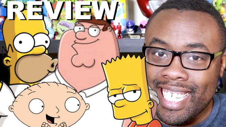 SIMPSONS / FAMILY GUY Crossover Review : Black Nerd reviews The Simpsons / Family Guy crossover episode