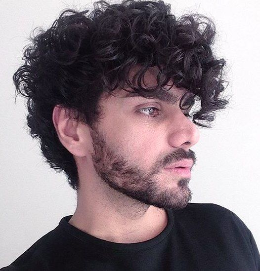 Hairstyle For Curly Hair Male Cool 208 Best Hair Style Idea's Images On Pinterest  Hair Dos Short